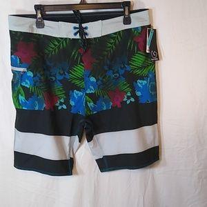 New Sz 34 Board Shorts
